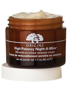 "Origins Night-A-Mins - InStyle Best Beauty Buys 2013 Eco-friendly Facial Moisterizer Winner This cream, with salicylic acid to slough dead cells and vitamins to improve the skin barrier, can virtually give you a prettier complexion overnight. By morning your face looks and feels ""moist and smooth,"" says Great Neck, N.Y., dermatologist Jeannette Graf.  $40"