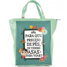 Bolsa Book Bag Frida Carpe Diemhttp://www.loopday.com.br/frida