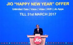 Jio Welcome Offer Extended Till 31st March 2017 As Happy New Year Offer