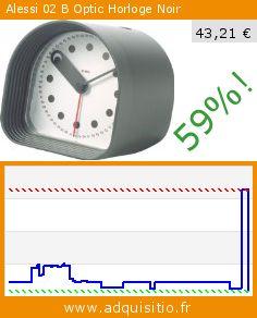 Alessi 02 B Optic Horloge Noir (Cuisine). Réduction de 59%! Prix actuel 43,21 €, l'ancien prix était de 105,62 €. http://www.adquisitio.fr/alessi/02-b-optic-horloger%C3%A9veil