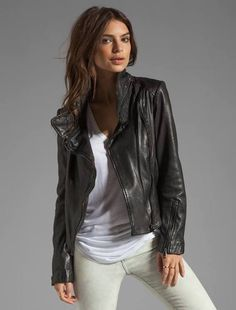 Glenna Leather Jacket. Fashion Dash, #BOUTIIKA