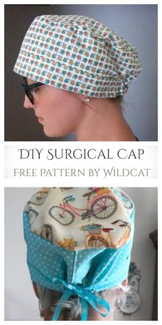 diy crochet face mask free pattern for kids and adults Sewing Patterns Free, Free Sewing, Free Pattern, Sewing Diy, Pattern Fabric, Scrub Hat Patterns, Scrubs Pattern, Easy Knitting Projects, Sewing Projects