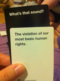 best Cards Against Humanity play ever