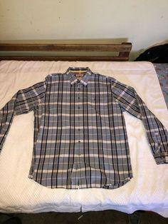 6e9031b460b Mens Thomas Pink Button Down Blue/multicolor Size Xl 100% Cotton #fashion #