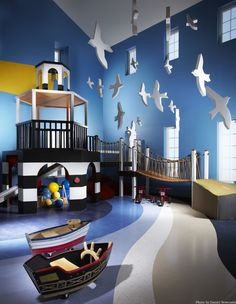 Playroom = Amazing  I love this but none of our ceilings would work for this!  :(