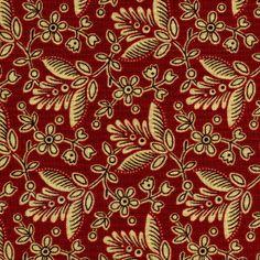 Elizabethtown Flower on Red