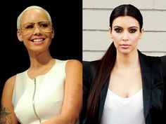 7 Surprising Things That Kim Kardashian and Amber Rose Have in Common