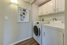 Our homes feature in-unit washers and dryers for your convenience. Lease, Apartment, Home, Home Appliances, Yourhome, Stacked Washer Dryer