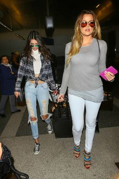 Kim Kardashian Khloe Kardashian April 2014 Style For more outfits, beauty advice and style click the picture!