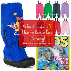 25 Great Holiday Gift Ideas for Outdoor Kids + Giveaway! Rain or Shine Mamma Outdoor Gifts, Outdoor Play, Holiday Gift Guide, Holiday Gifts, Christmas Gifts, Nature Activities, Play Based Learning, Nature Crafts, Outdoor Woman