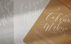 Wedding Invitations カード型招待状