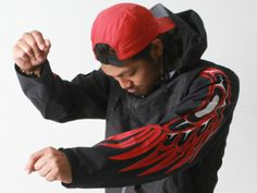 Alano Edzerza, a Tahltan multimedia artist, designs casual clothing emblazoned with Northwest Coast art, available from Edzerza Gallery onli...