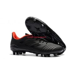 2018 World Cup Hot Sale Men Adidas Predator 18 4 FG Soccer Cleats Core Black Orange Adidas Soccer Boots, Adidas Football, Football Shoes, Soccer Shoes, Football Trainers, Nike Soccer, Basketball Sneakers, Adidas Predator, Tango