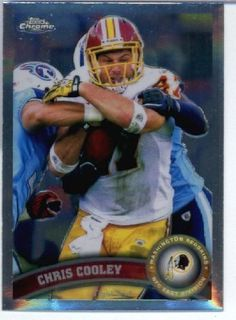 2011 Topps Chrome Football Card #TC176 Chris Cooley - Washington Redskins - NFL Trading Card by Topps. $1.89. 2011 Topps Chrome Football Card #TC176 Chris Cooley - Washington Redskins - NFL Trading Card