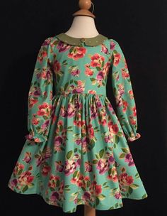 but I'm mildly obsessing over Pepper. Girls Dresses Sewing, Dresses Kids Girl, Kids Outfits, Cotton Frocks For Kids, Kids Frocks, Frock Patterns, Girl Dress Patterns, Baby Princess Dress, Baby Dress