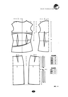 chinese clothes/9  #sewing #dressmaking #patternmaking