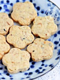 Happy Home Baking: Pork Floss and Sesame Seeds Cookies
