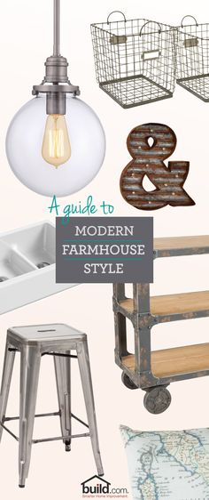 We created a guide to the Modern Farmhouse style to bring that rustic comfort into your home. If you are looking to completely redecorate, or are just looking for that final touch to complete the look, we have it all!