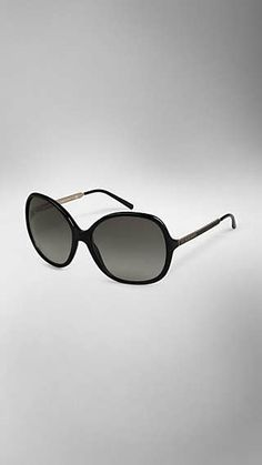 dc98ca62fc5f Round Frame Acetate Sunglasses Burberry Sunglasses