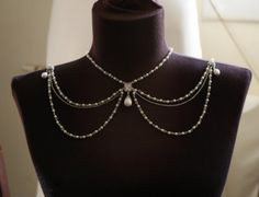 Necklace For The Shoulders1920Pearls by mylittlebride on Etsy