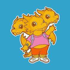 Godzilla, Jason Friday, Thing 1, Know Your Meme, King Kong, Jurassic World, Winnie The Pooh, Pikachu, Disney Characters