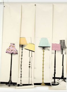 wallpaper with lamps