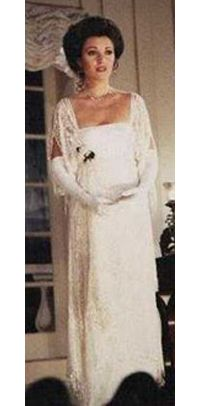 """Jean Pierre Dorleac designed Edwardian lace theatre gown from """"Somewhere in Time"""""""