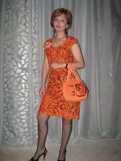 Красивое платье в технике крейзи вул. Обсуждение на LiveInternet - Российский Сервис Онлайн-Дневников