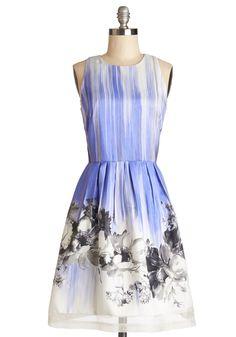 Blissful Brushstrokes Dress | Mod Retro Vintage Dresses | ModCloth.com