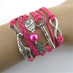 Best price on Infinity Owl Giraffe Key Friendship Leather Charm Bracelet    Price: $ 11.80  & FREE Shipping    Your lovely product at one click away:   https://mrowlie.com/infinity-owl-giraffe-key-friendship-leather-charm-bracelet/    #owl #owlnecklaces #owljewelry #owlwallstickers #owlstickers #owltoys #toys #owlcostumes #owlphone #phonecase #womanclothing #mensclothing #earrings #owlwatches #mrowlie #owlporcelain