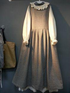 Olive's linen story – * Herringbone wool sleeveless …: Cacao sto … – Best Of Likes Share Mori Fashion, Abaya Fashion, Muslim Fashion, Modest Fashion, Fashion Dresses, Hijab Style Dress, Dress Outfits, Moslem, Mode Lolita