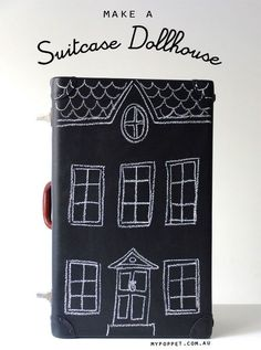 (via DIY Suitcase Dollhouse |   DIY)