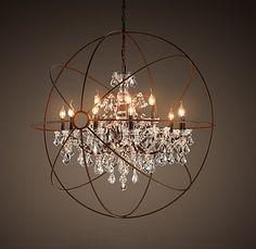 17 best entry chandeliers images on pinterest chandeliers entry restorationhardware statement maker entry chandelier aloadofball Gallery