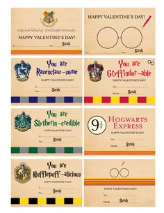 Harry Potter Valentines - Harry Potter Valentine Cards  - With Teacher Card - Digital File by DOODLEBOXdesigns on Etsy https://www.etsy.com/listing/264910823/harry-potter-valentines-harry-potter