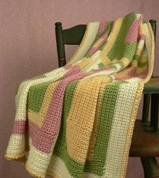 These muted tones make for a great alternative to bright and bold baby blankets
