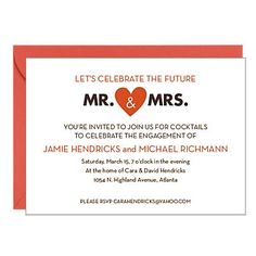 Bridal Shower Invitations - Engagement Party Invitations | Paper Source