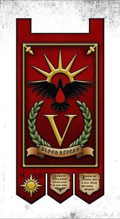 Artwork, Banner, Blood Ravens, Company Standard