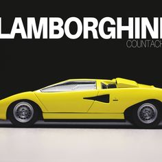 Sharp angles and a bold yellow livery make the Lamborghini Countach an unforgettable addition to any collection. Featuring working wheels, a diecast construction and a clear display case. Maisto Model Cars, Carrera Slot Cars, Lamborghini Models, Replica Cars, Car Guide, Model Cars Kits, Audi Tt, Old Models