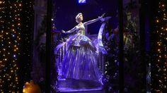 Cinderella by Versace in the Harrods Disney Princess display  http://luxworldwide.com/magazine/fashion/harrods-a-disney-christmas/