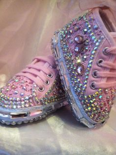 Princess bling sneakers   Baby bling ~sold~