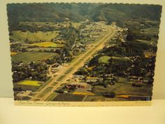 Arial view PF parkway - 1973