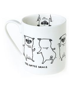 Pickle Parade Coffee Dance Mug The Brilliant Gift Shop (UK)