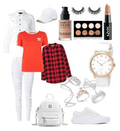 """""""OOTD W & R"""" by madisonkiss on Polyvore featuring Effy Jewelry, Marc by Marc Jacobs, Anne Sisteron, Bloomingdale's, Maison Margiela, WithChic, Vans, Sole Society, H&M and Dsquared2"""