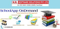 HR Software Solutions Pvt. Ltd. is reputed IT Company in Delhi, India. We provide complete school #ERP solution. Get School Administration #Software & SchoolApp OnDemand at affordable price.