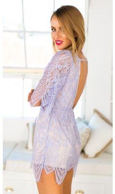 Purple lace dress | Mura Boutique Fashion