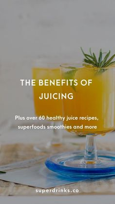 Juicing has been around for a while and is here to stay. Its health benefits are epic: detoxification, immune system boost, weight loss and more. Ready to reap the benefits? Read on then access our directory of over 60 juicing recipes. Health Drinks Recipes, Detox Juice Recipes, Healthy Juice Recipes, Healthy Juices, Healthy Drinks, Detox Drinks, Smoothie Recipes, Blender Recipes, Healthy Smoothies