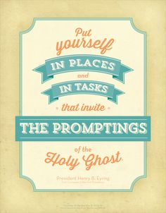 President Henry B. Eyring talks about how to invite the Holy Ghost into your life.