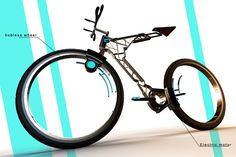 Hubless Synapse Bike goes one further with integrated electric motors to assist the rider. The design opens up the entire bike, giving the designer control over structural elements (in this case, lack thereof). It's minimal, elegant, slightly aggressive, but overall dynamic. It's like riding on no support structure at all.