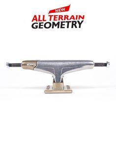 "Tensor Magnesium Mag Lights Pro Lo Silver Skateboard Trucks 5.0/""//5.25/""//5.5/"""
