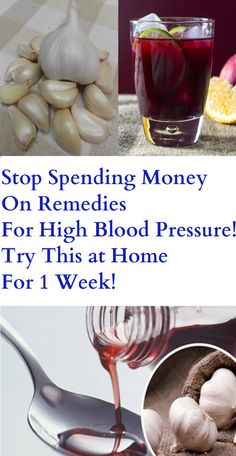 Stop Spending Money On Remedies For High Blood Pressure! Try This at Home For 1 Week – Stay Healthy Store